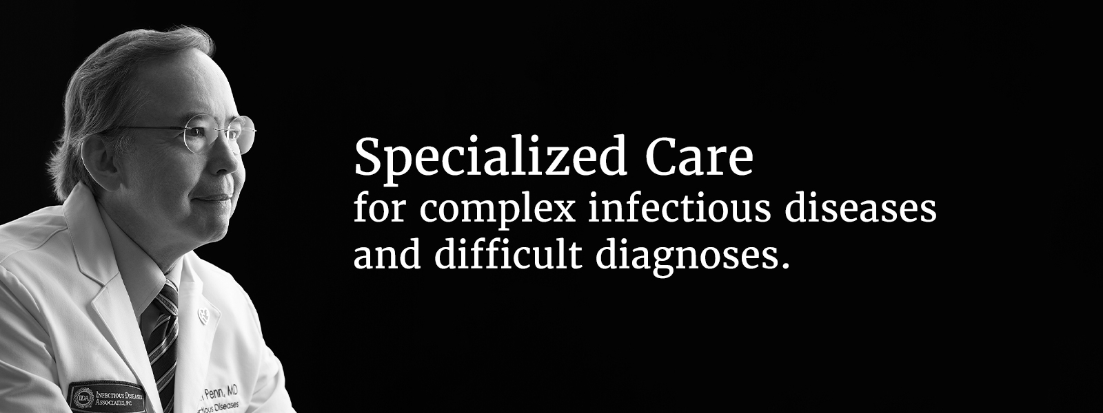 specialized care for complex infectious diseases and difficult diagnoses